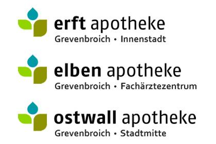 Erft-Apotheke, Elben-Apotheke, Ostwall-Apotheke, Sponsoren Citylauf Grevenbroich