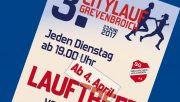 Citylauf Grevenbroich, Ankündigung Lauftreff 2017