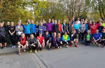 Citylauf Grevenbroich, Lauftreff, 4. April 2017
